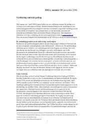 IOEA, nummer 30 november 2004 Verklaring omtrent gedrag - Pianoo