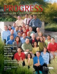 Spring 2006 - Eller College of Management - University of Arizona