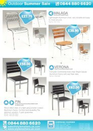 Outdoor Clearance P1 - Hotel Designs