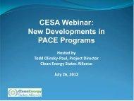 Download Webinar pdf (1.9 MB) - Clean Energy States Alliance