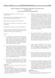 DIRECTIVE 2002/96/EC OF THE EUROPEAN ... - EUR-Lex