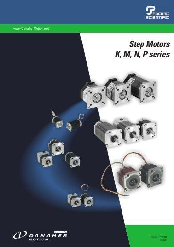 Pacific Scientific series K, M, N, P step motors