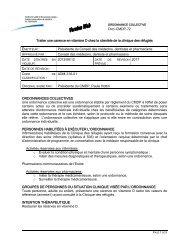 ORDONNANCES COLLECTIVES - Csss-iugs.ca