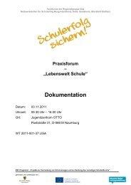 "Praxisforum – ""Lebenswelt Schule"" Dokumentation - AWO Halle-Merseburg"