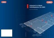 Sicherheit im Objekt Schließsysteme von ABUS