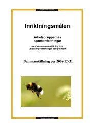 Sammanställt inriktningsmål bokslut 2008.pdf - CFL