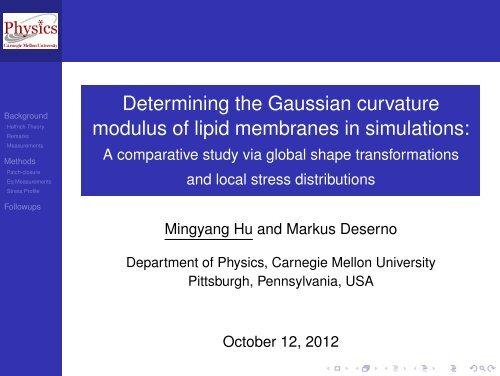 Determining the Gaussian curvature modulus of lipid