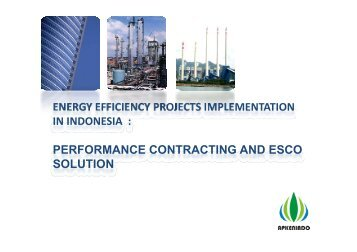energy efficiency projects implementation in indonesia - IESR