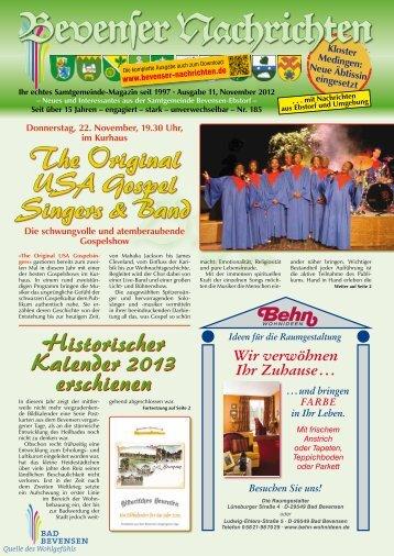 November 2012 - Bevenser Nachrichten Siebenstern-Druckerei ...