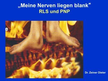 Vortragsunterlagen FB Amstetten OA Dr. Dieter Zeiner