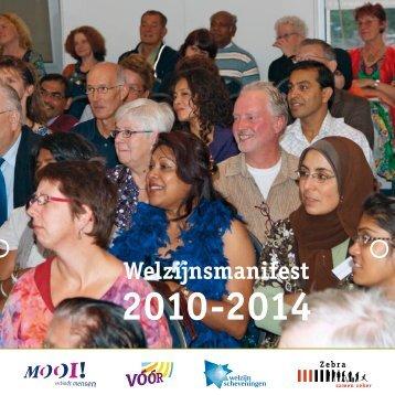 Welzijnsmanifest 2010-2014 - Welzijn Haagse Hout