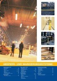 Katalog: Absperr- und Markierungssysteme - Labor-Kennzeichnung