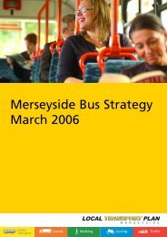 LTP 2006/11 App 01 Bus Strategy - the TravelWise Merseyside ...
