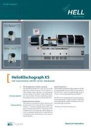 HelioKlischograph K5 - hell gravure systems