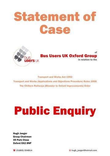 OBJ/205/1 - Bus Users UK - Chiltern Evergreen3