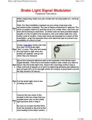 Download Installation Instructions - Whitehorse Gear