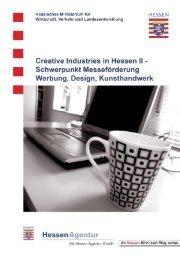 Creative Industries in Hessen II - HA Hessen Agentur GmbH