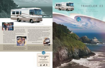 2003 Holiday Rambler Traveler Brochure - Guarantee RV