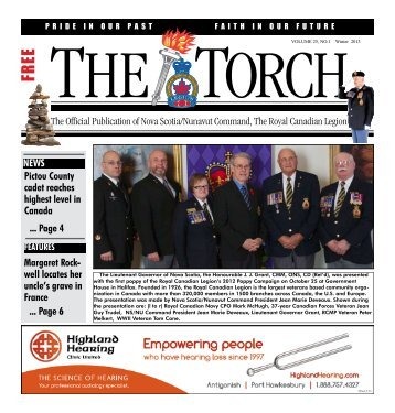 Winter 2013 - Royal Canadian Legion