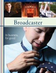 Broadcaster - Concordia University Nebraska