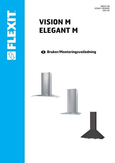 Bruker- og monteringsveiledning - Flexit