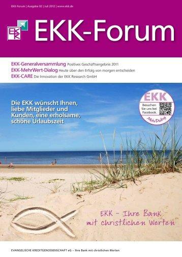 Die EKK wünscht Ihnen, liebe Mitglieder und Kunden, eine erholsame ...