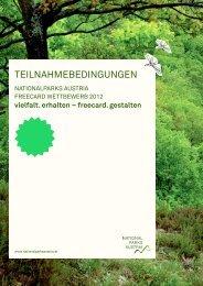 Download Teilnahmebedingungen - Nationalparks Austria