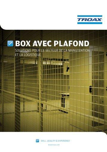 BOX AVEC PLAFOND - Troax