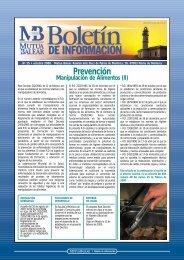 Boletín nº 15 - octubre de 2000 - Mutua Balear