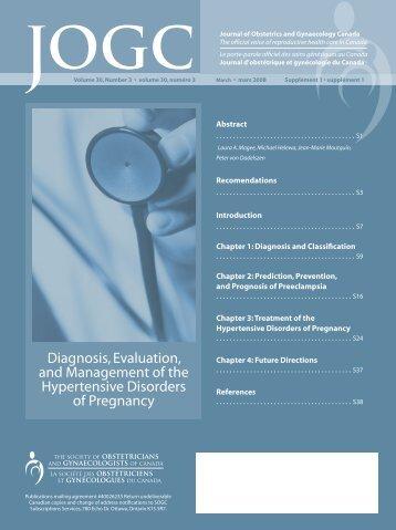 SOGC Guidelines, Canada - the Preeclampsia Foundation