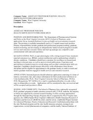 ASSISTANT PROFESSOR POSITION - Society for Prevention ...