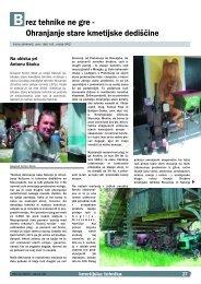 Na obisku pri Antonu Skoku - Društvo kmetijske tehnike Slovenije
