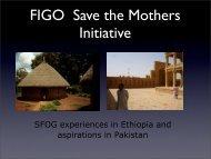 FIGO Save the Mothers Initiative - SFOG