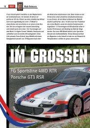 AMT berichtete ausführlich über FG Sportsline 4WD RTR + Porsche ...