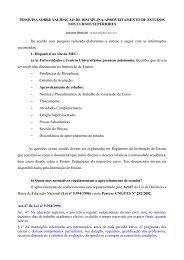 PESQUISA SOBRE VALIDAÇÃO DE DISCIPLINA ... - Wiki