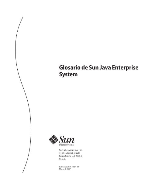 Glosario de Sun Java Enterprise System - Oracle Documentation