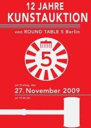 Round Table 5 - Ralf Bertram . Lichtbilder