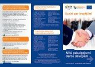 NVA pakalpojumi darba devējiem 2011 - Nodarbinātības Valsts ...