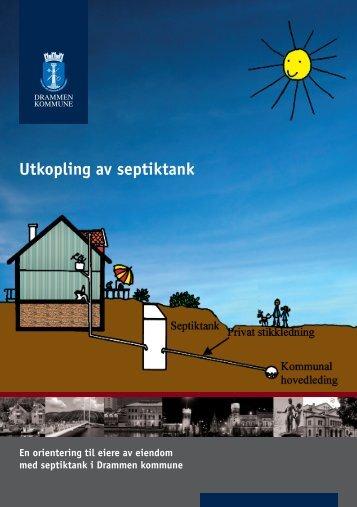 utkobling av septiktank - Drammen kommune