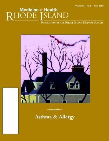 Asthma & Allergy - Rhode Island Medical Society