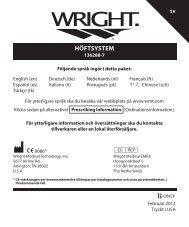 136288-7_SV copy.indd - Wright Medical Technology, Inc.
