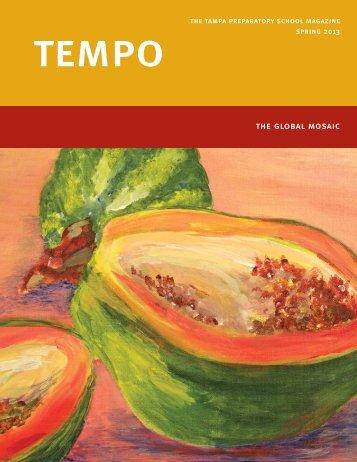 Spring 2013 TEMPO - Tampa Preparatory School