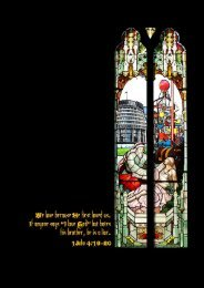 2007 Annual Report and Accounts - St John's in the City