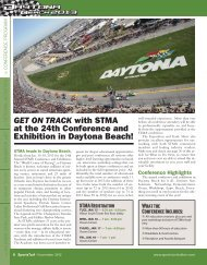 GET ON TRACK with STMA at the 24th ... - About SportsTurf