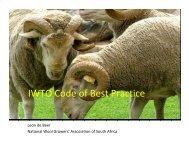 IWTO Code of Best Practice