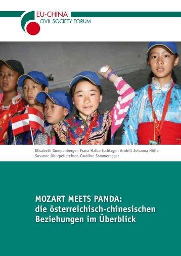 Österreich und China - EU-China Civil Society Forum