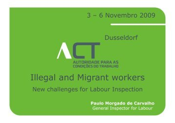 Illegal and Migrant workers - International Safety and Health ...