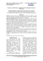 Polymerase Chain Reaction as a Rapid Tool for the Diagnosis of ...