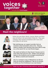 Voices Together Winter 2011 - Golden Lane Housing
