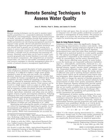 assessing water quality in a stream by chemical means essay How healthy are our waterways water quality monitoring 5/9 forestry, farming, or construction, we have the capacity to add nutrients, sediments, toxics, minerals, or acids to lakes and streams.